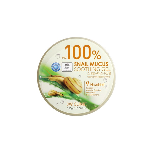 [3W CLINIC] Snail Mucus Soothing Gel 100% - 300g