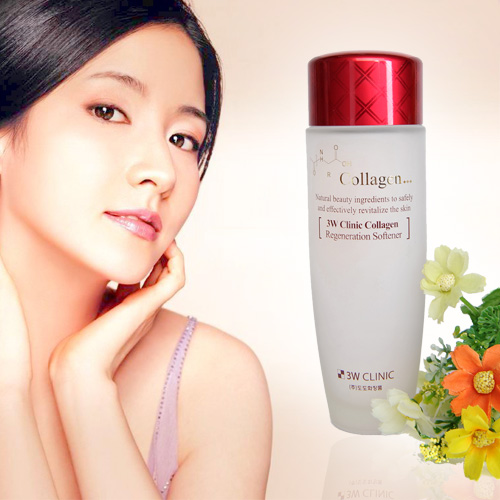 [3W CLINIC] Nước hoa hồng  Collagen Regeneration Softener 150ml