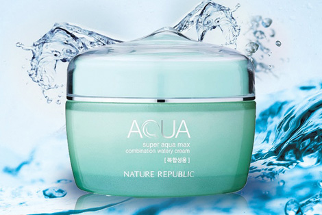 [Nature Republic] SUPER AQUA Max Combination Watery Cream 80ml