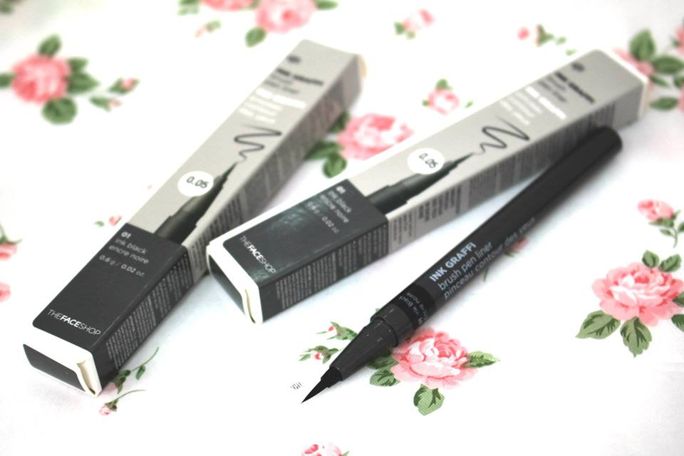 Kẻ mắt nước The Face Shop Ink Graffi Brush Pen Liner