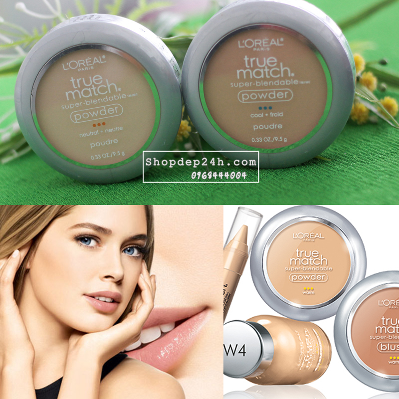 [L'Oreal] Phấn phủ mịn True MatchTrue Match™ Super-Blendable Compact Makeup